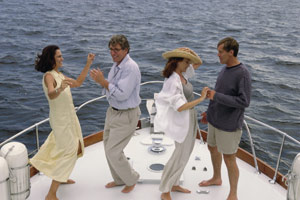 Dancing on Boat